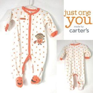 Carter's My First Halloween Candy Corn Sleeper